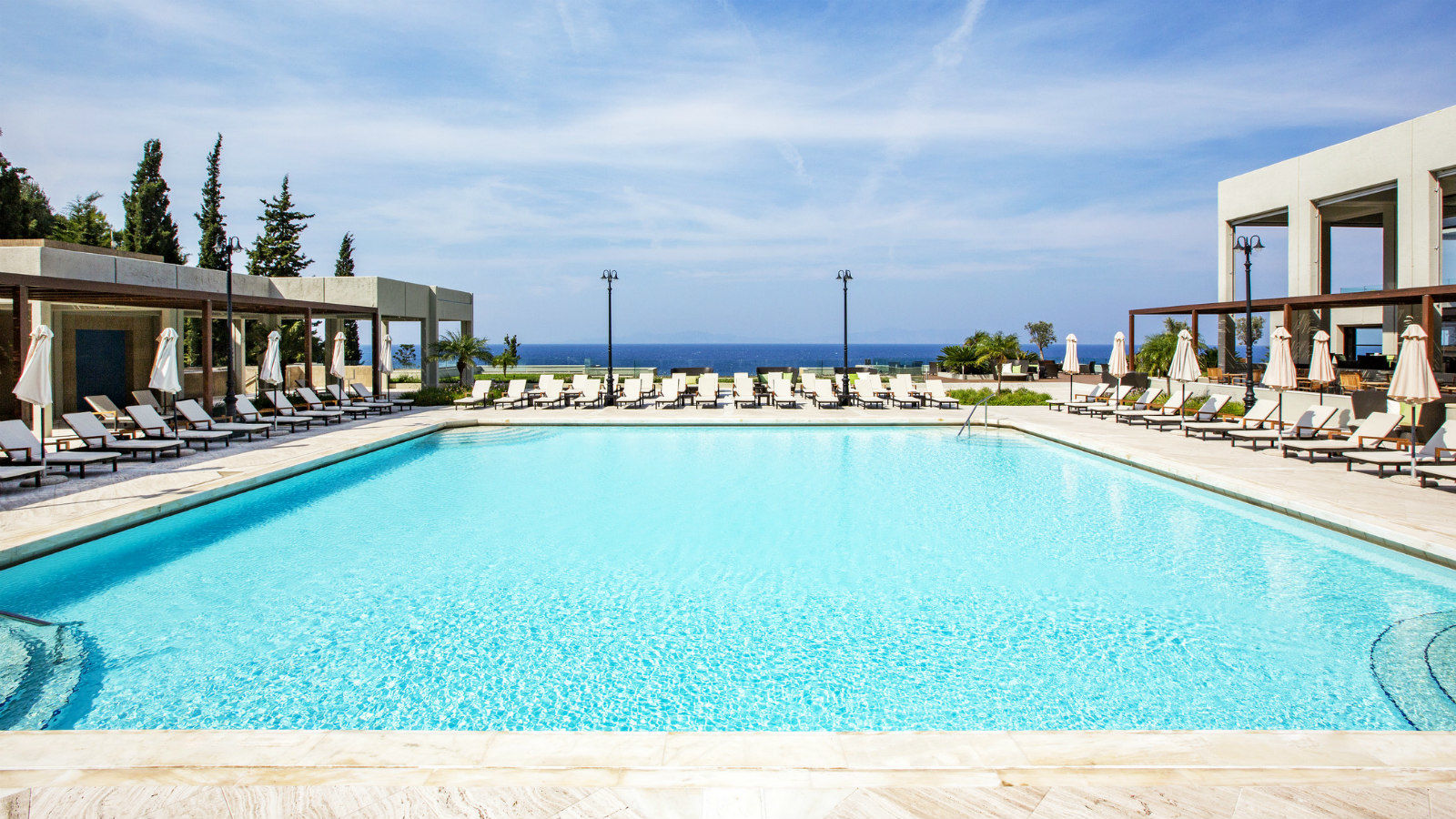 Sheraton rhodes resort direct rhodes for Swimming pool resort in gensan